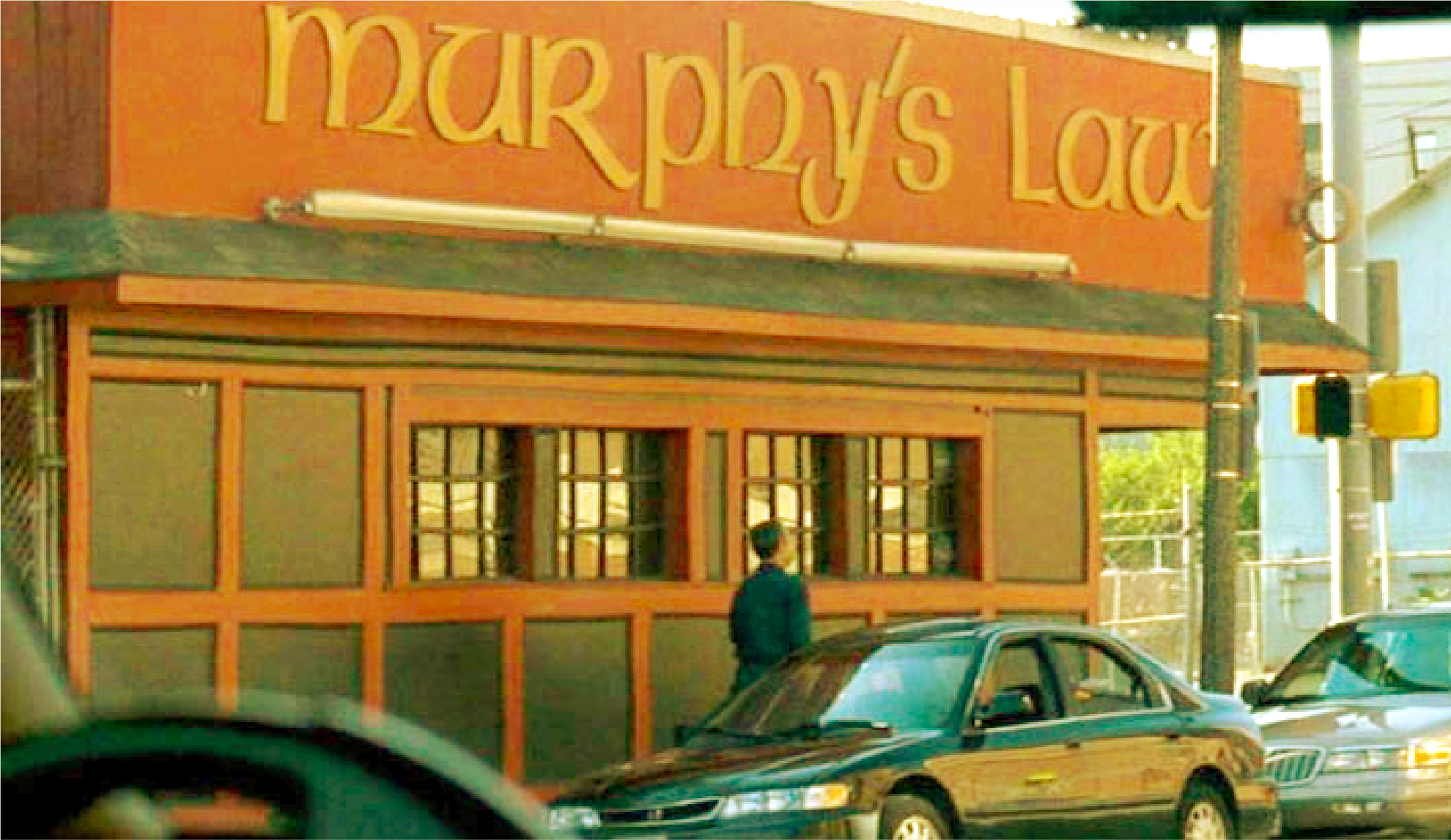Murphy's Law is Boston's famous bar from Gone Baby Gone