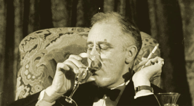 FDR drinking and smoking in DC
